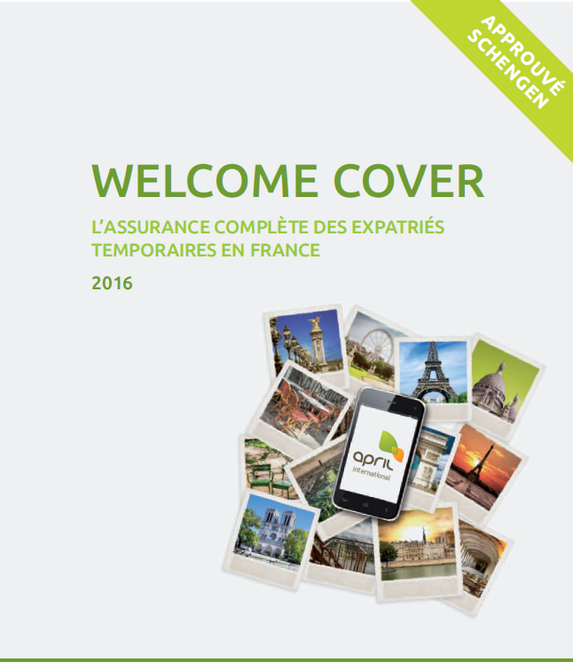 Assurance des étrangers Welcome Cover